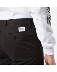 Norse Projects - Black Aros Light Twill Shorts for Men - Lyst