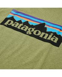 Patagonia - Green P-6 Responsibili-tee T-shirt for Men - Lyst