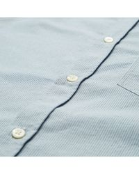 """Norse Projects - Blue Anton Oxford Short Sleeve Shirt """"hip Exclusive"""" for Men - Lyst"""