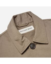Universal Works - Green Twill Bakers Jacket for Men - Lyst