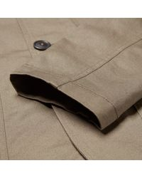 Universal Works | Green Twill Bakers Jacket for Men | Lyst
