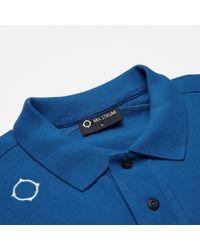 Ma.strum - Blue Warley Icon Polo for Men - Lyst