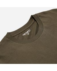 Carhartt WIP - Green Carhartt Pocket T-shirt for Men - Lyst