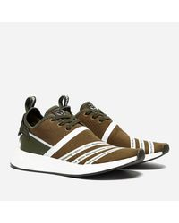 07cec478af634 Lyst - adidas Originals X White Mountaineering Nmd R2 Pk in Green ...