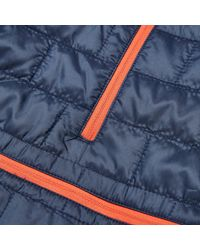 Patagonia - Blue Nano Puff Bivy Pullover Jacket - Lyst