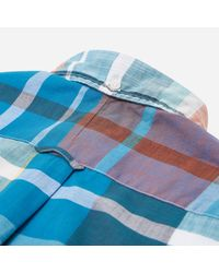 Gitman Brothers Vintage - Blue Big Madras Shirt for Men - Lyst