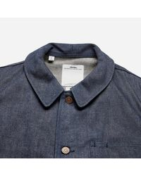 Visvim - Blue Benny Coverall Jacket for Men - Lyst