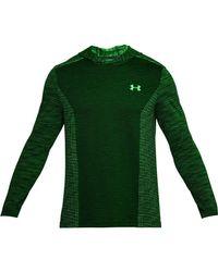 Under Armour - Green Threadborne Seamless Hoody for Men - Lyst