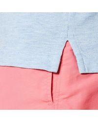 Gant - Blue Original Pique Rugger Polo Shirt for Men - Lyst