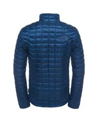 The North Face - Blue Denali Thermoball Jacket for Men - Lyst