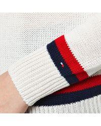 Tommy Hilfiger - White Estro Tipping Sweatshirt - Lyst