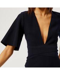 Bec & Bridge - Blue Bon Marche Plunge Dress - Lyst