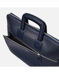 Aspinal - Blue Connaught Document Case for Men - Lyst