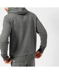 The North Face - Gray Drew Peak Hoodie Tnf Medium Grey Heather/tnf Black for Men - Lyst
