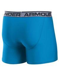 "Under Armour - Blue Original 6"""" Twist Boxerjock for Men - Lyst"