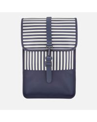 Rains - Blue Mini Backpack - Lyst