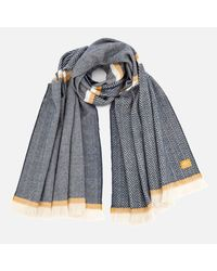 Joules | Blue Twilby Soft Scarf | Lyst