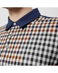 Aquascutum - Blue Men's Dillon Cc Short Sleeve Polo Shirt for Men - Lyst