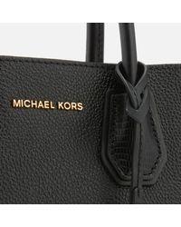 MICHAEL Michael Kors - Black Mercer Medium Messenger Bag - Lyst