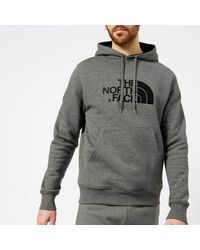 The North Face - Gray Drew Peak Hoodie for Men - Lyst