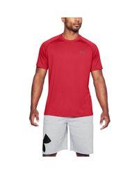 Under Armour Red Tech T-shirt for men