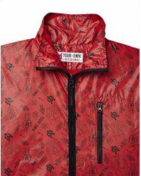 Yo - Red Guerilla Throw On Jacket for Men - Lyst