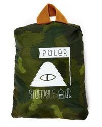 Poler | Green Rolltop Backpack for Men | Lyst