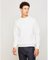 The Idle Man - Perfect Sweatshirt White for Men - Lyst
