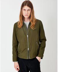 Gant Rugger | Double Flyer Jacket Green for Men | Lyst