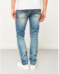 Nudie Jeans - Lean Dean Sliver Lake Jeans Blue for Men - Lyst