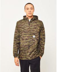 Carhartt WIP | Green Wilson Pullover Jacket Camo for Men | Lyst