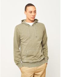 The Idle Man | Washed Hoodie Green for Men | Lyst