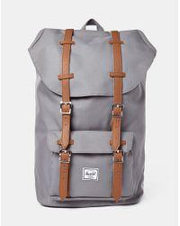 Herschel Supply Co. | Gray Little America Backpack Grey for Men | Lyst