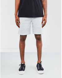 The Idle Man - Gray Sweat Shorts Grey for Men - Lyst