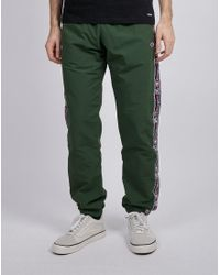 Champion - Elastic Cuff Pants Green for Men - Lyst