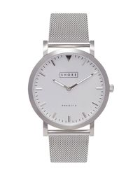 Shore Projects - Metallic Cowes Watch Silver for Men - Lyst