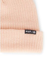 Huf - Usual Beanie Pink for Men - Lyst