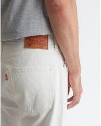 Levi's - 501 Original Custom Jean Paint Splatter White for Men - Lyst