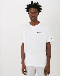 Champion - Deconstruction Short Sleeve T-shirt White for Men - Lyst