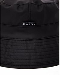 Rains - Bucket Hat Black for Men - Lyst