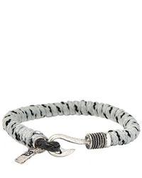 Icon Brand - Gray Bracelet Disclaimer for Men - Lyst