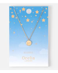 Orelia | Metallic Scorpio Constellation Necklace | Lyst