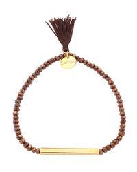 Scmyk - Black Bracelet Latte From Lecce - Lyst