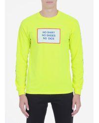 Nine One Seven - Yellow All American Burger Longsleeve T-shirt for Men - Lyst