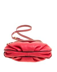 Marc By Marc Jacobs - Red Leather Classic Q Natasha Crossbody Bag - Lyst