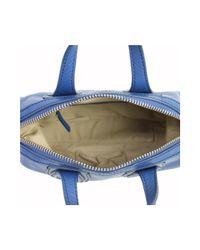 Givenchy - Blue Leather Mini Nightingale Bag - Lyst