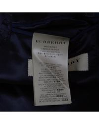 Burberry - Blue London Wool And Mohair Tailored Suit S for Men - Lyst