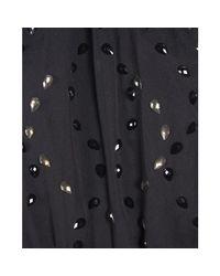Diane von Furstenberg - Black Embellished Halterneck Jumpsuit S - Lyst