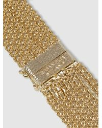 Rosantica - Metallic Bismark Gold-tone Multi-strand Necklace - Lyst