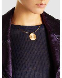 Ileana Makri - Metallic Sun Gold-plated Opal And Sapphire Choker - Lyst